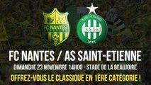 FC Nantes / AS Saint-Etienne, dimanche 23 novembre (14h)