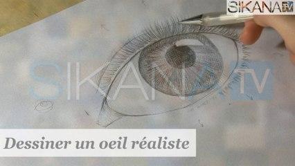 Dessin : Dessiner un oeil réaliste