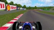 F1C VB AS - F1 1986 - Hungary - Ligier - Jacques Laffite