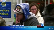 Two Black Friday Shoppers Already Waiting In Line At Best Buy