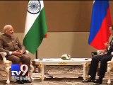 Narendra Modi meets Russian PM, hopes ties will be strengthened - Tv9 Gujarati