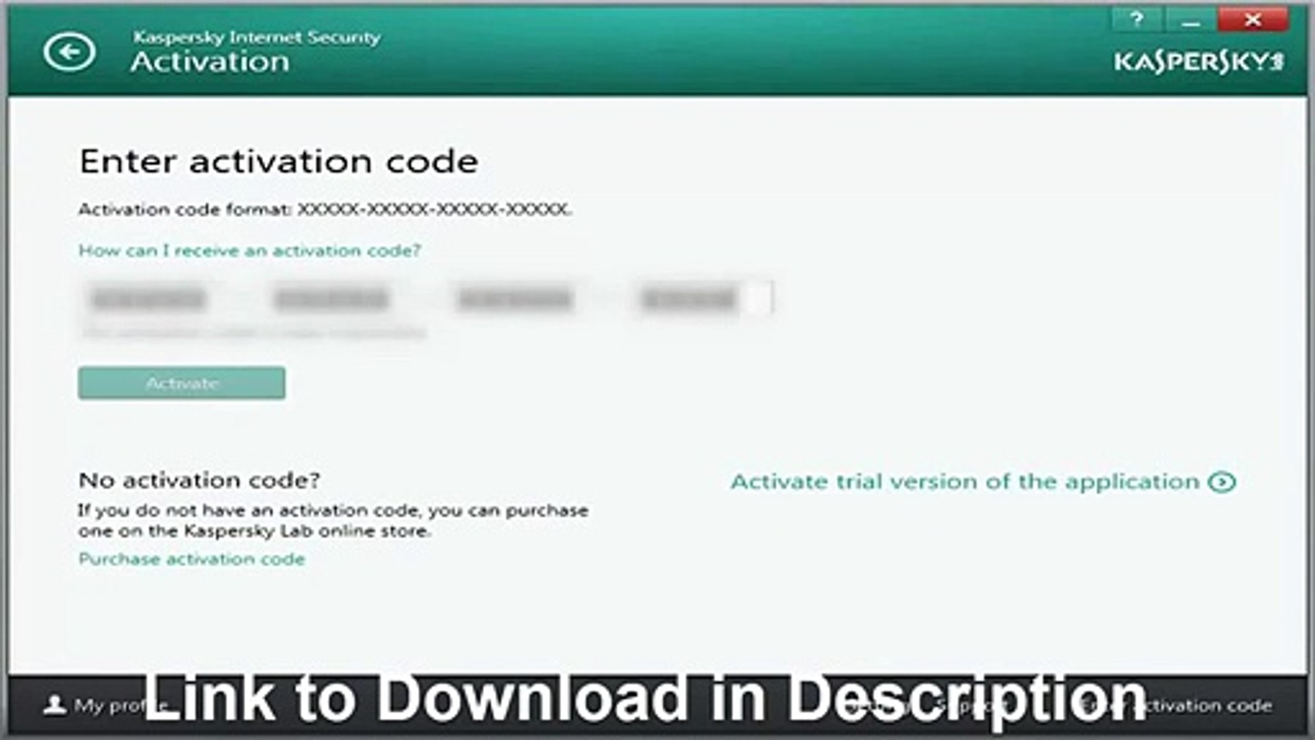 Kaspersky Internet Security 2014 Activation Code Product Key