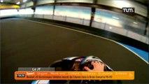 Une piste de karting unique en France! (Dagneux)