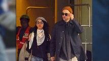 Robert Pattinson luce un nuevo look mientras que sale con su nueva novia FKA Twigs