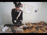Marano (NA) - Armi da guerra, 6 arresti contro clan Nuvoletta e Polverino -1- (12.11.14)