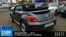 Annonce Occasion VOLKSWAGEN Coccinelle Cabriolet 1.2 TSI105 Vintage 2014