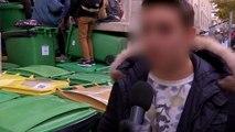 """Lycées bloqués: les étudiants se révoltent """"contre les violences policières """""""