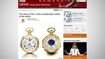 World's Most Expensive Watch Fetches $24 Million At Auction