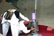 technique pour allumer un feu avec une bouteille de gaz