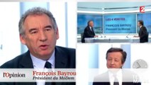 Jouyetgate : François Bayrou soupçonne François Hollande d'avoir inspiré un certain nombre de manipulations