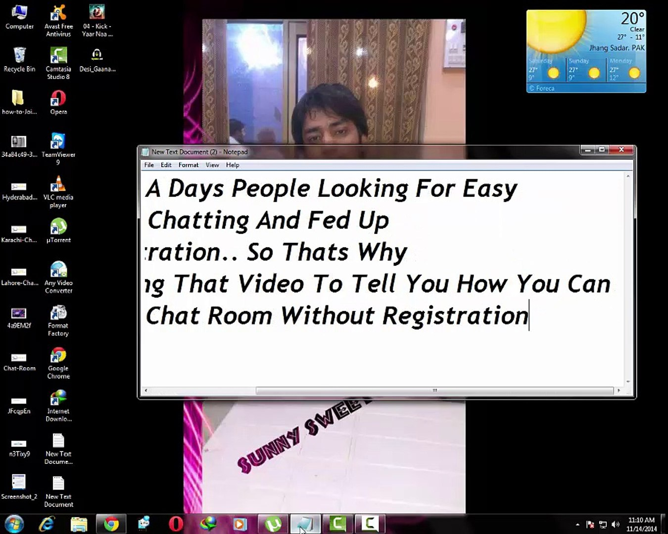 Free no registration video chat room