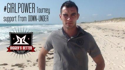 Parviz Iskenderov Bigger's Better support from Australia