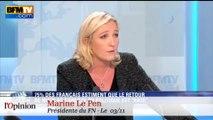 """Tacle du jour : Marion Maréchal-Le Pen, Alain Juppé est """"gaucho-compatible"""""""