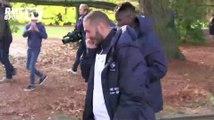 Football / Balade dans le parc de Bréquigny pour les Bleus -14/11