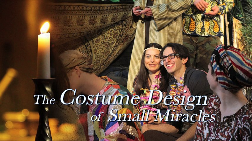 SMALL MIRACLES Behind-the-Scenes (Wardrobe Design)