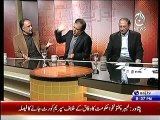What PTI's Shibli Faraz said to PPP's Qamar Zaman Kaira, that made Kaira too much Angry in a Live Show ??