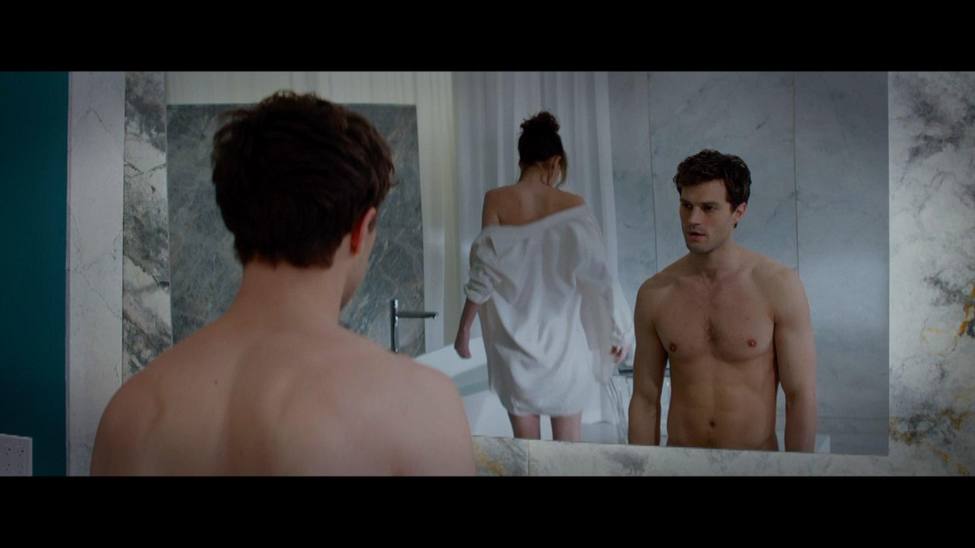 Dakota Johnson Jamie Dornan In Fifty Shades Of Grey First Full Trailer Video Dailymotion