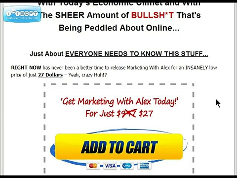 Marketing With Alex Review Marketing With Alex Internet Marketing Coaching