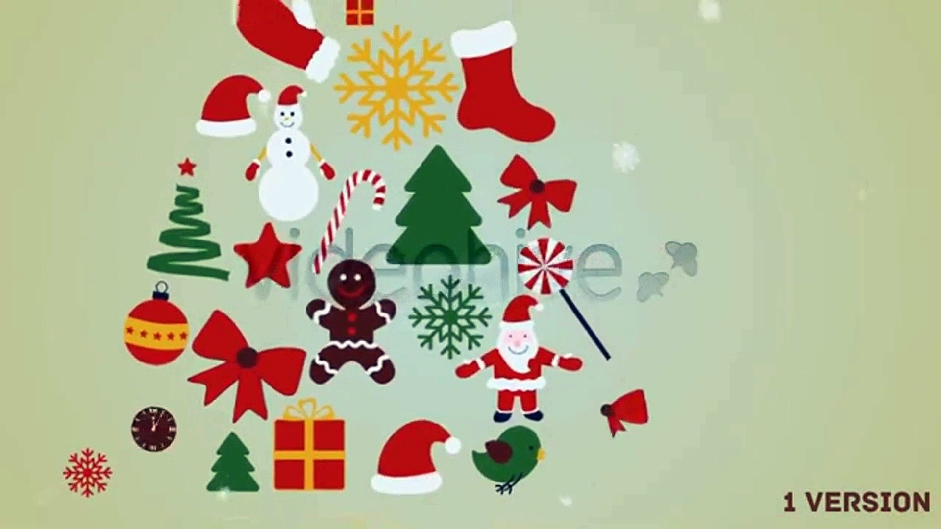Christmas New Year Greetings & 20 elements | After Effects Template | Project Files - Videohive