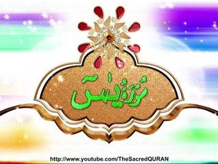 36 - Surah Yaa Siin - The Holy Quran Visualisation HD PTV