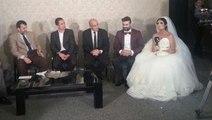 Spor Spikeri Gelin, Hem Düğün Yaptı Hem Haber Sundu
