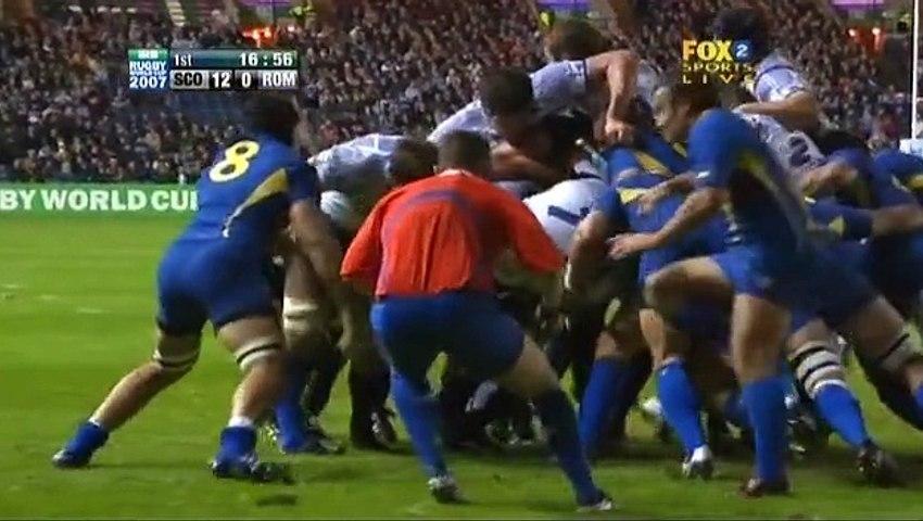 Rugby WC 2007.09.18 Pool C - Scotland vs Romania
