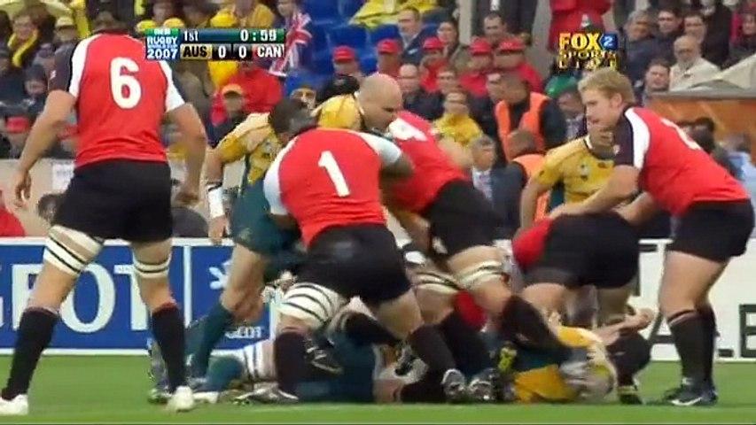 Rugby WC 2007.09.29 Pool B - Australia vs Canada