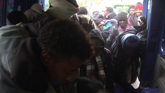 De Cluny à Calais, aide aux migrants