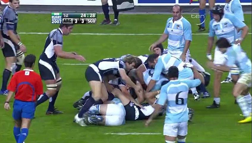 Rugby WC 2007.10.08 QF 4 - Argentina vs Scotland