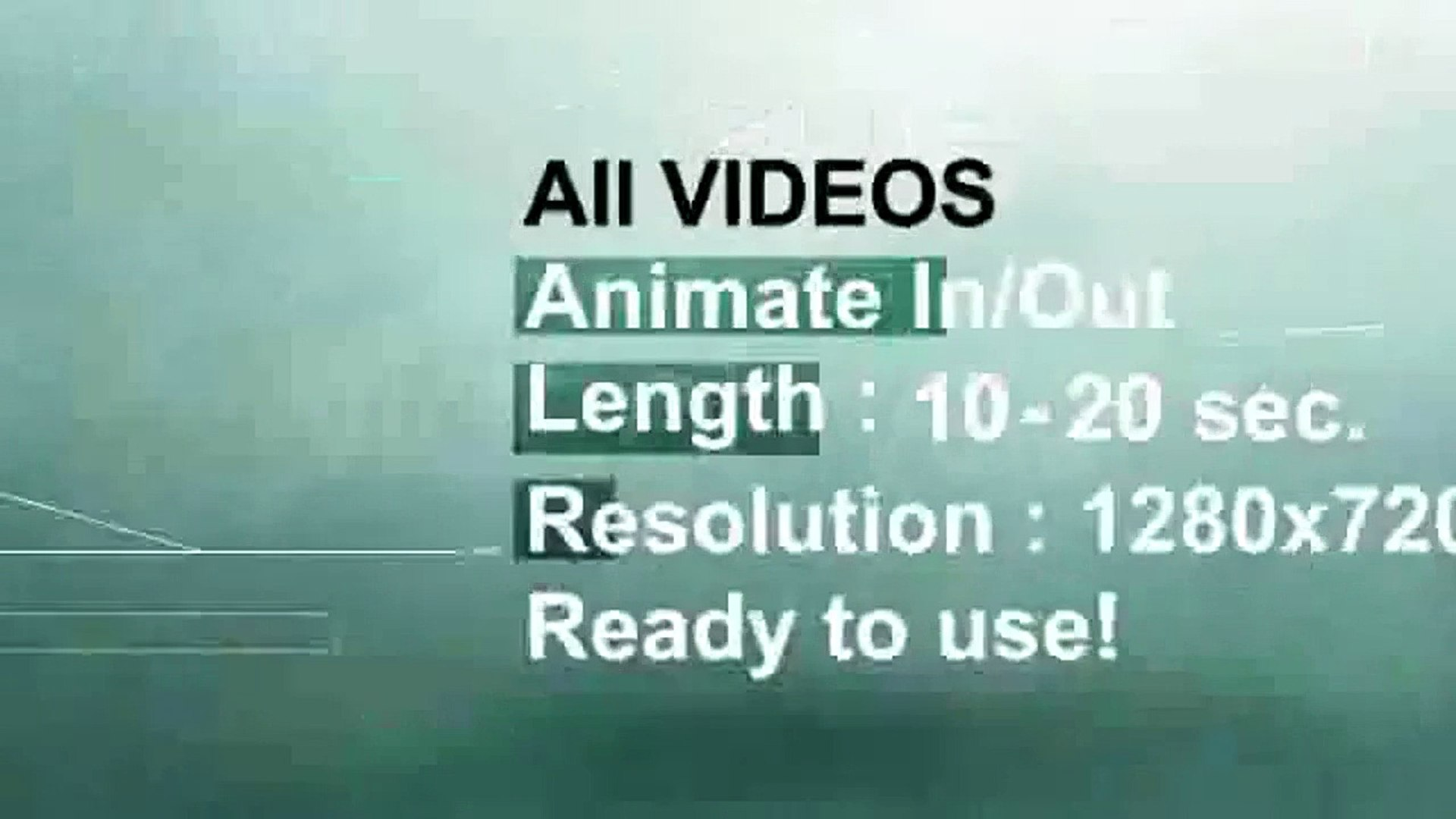 24 Videos Data & Infographic Elements | Motion Graphics | Files - Videohive