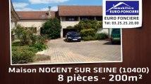 A vendre - maison - NOGENT SUR SEINE (10400) - 8 pièces - 200m²