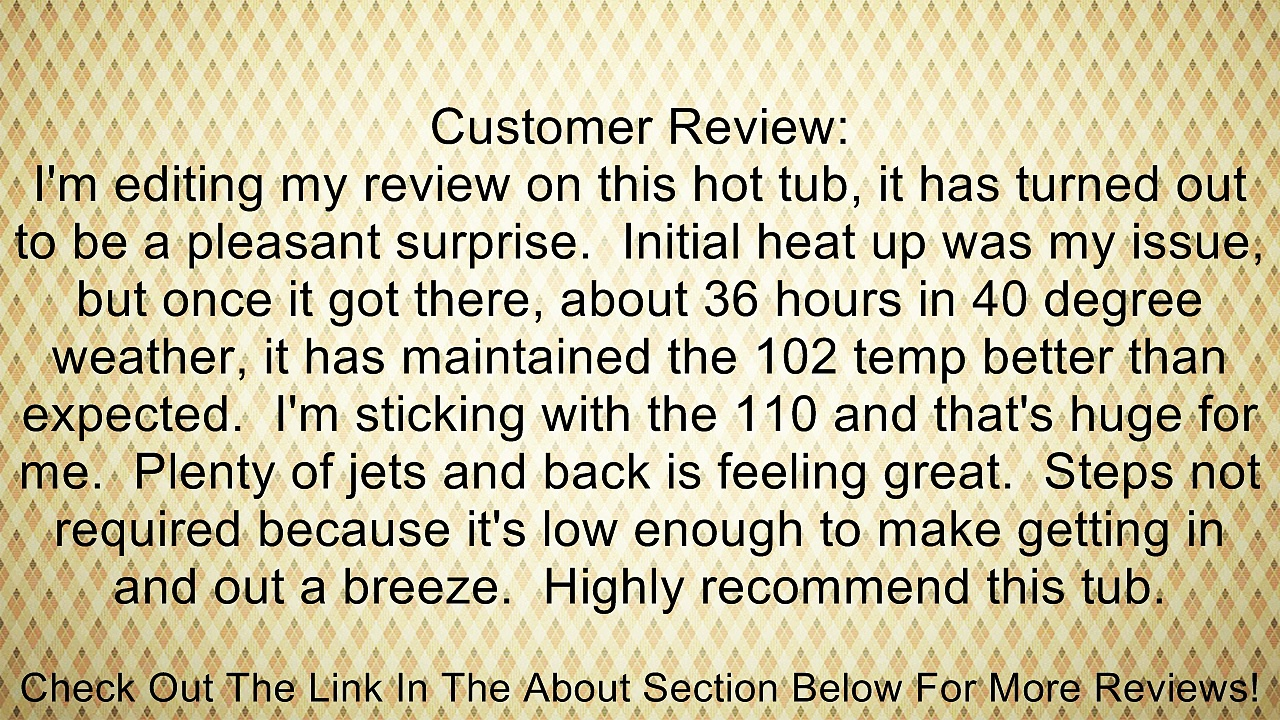 Strong Spas SS14120300 G-2 28 Jet Spa Review