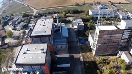 Centralele termice ale Sucevei (filmare aeriană)