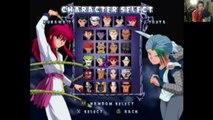 Kurama VS Toya In A YuYu Hakusho Dark Tournament Match / Battle / Fight - With Commentary