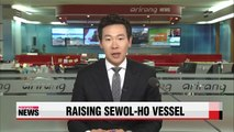 Sewol-ho ferry victim's families ask for specific plans on raising vessel
