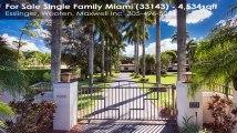 Single Family For Sale: 8300 SW 64 ST Miami, FL $1329000