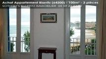 A vendre - appartement - Biarritz (64200) - 3 pièces - 100m²