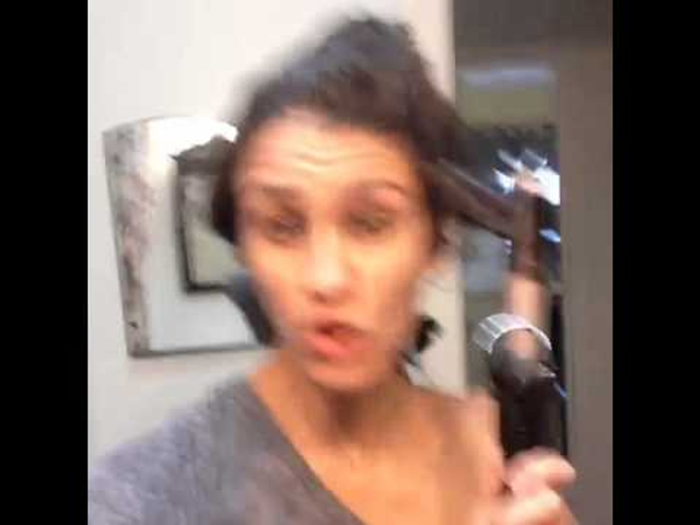 Curling your hair & listening to rap may turn you into Shirley Temple: Brittany Furlan's Vi