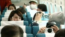 """Le train """"flottant"""" japonais atteint 500 km/h, avec des passagers"""