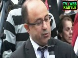 IDIR - Brahim SACI et Yasmine AZEM - Inauguration de la place Slimane Azem à Paris