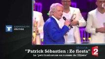 """Zapping TV : Patrick Sébastien parodie le """"Petit bonhomme en mousse"""" pour François Hollande"""