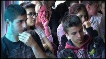 Péniche de l'égalité à Vienne : rencontre avec le lycée Ella Fitzgerald (matin)