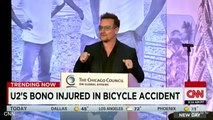 U2 Frontman, Bono Undergoes Surgery After Cycling Accident