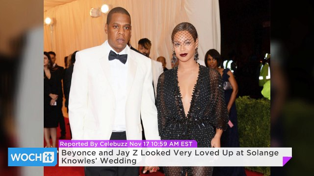 Beyonce and Jay Z Looked Very Loved Up at Solange Knowles' Wedding