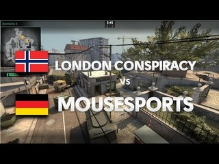 Mousesports vs London Conpiracy on de_overpass @ cKOTH by ceh9