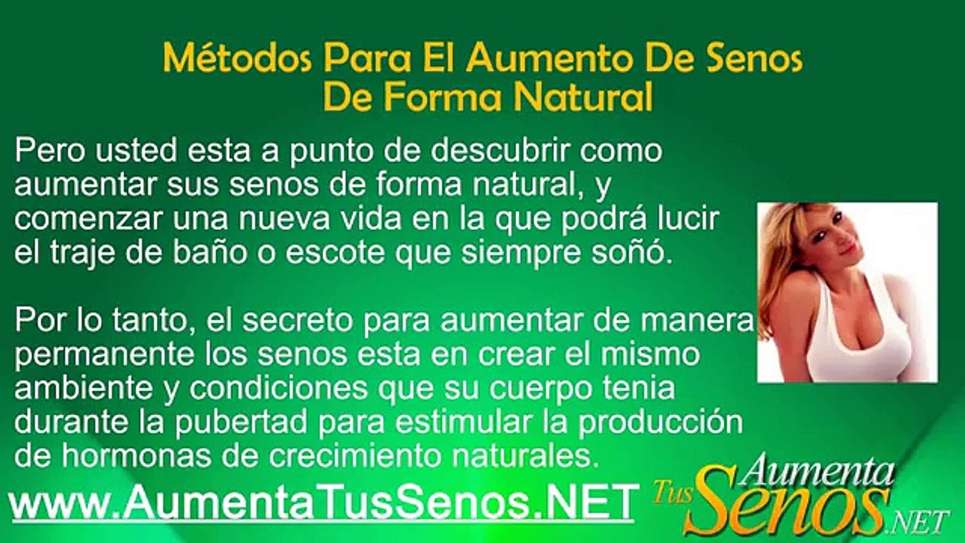 Aumenta Tus Senos De Manera Natural Aumentar El Busto De Manera Natural Vídeo Dailymotion