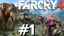 Farcry 4 Ubi soft Playthrough ps4 xbox one 360 ps3 Part 1 Prologue