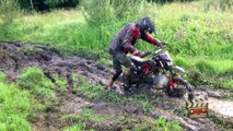 125cc dirt bike fail, mini moto cross 125 cc, 125cc cross funny