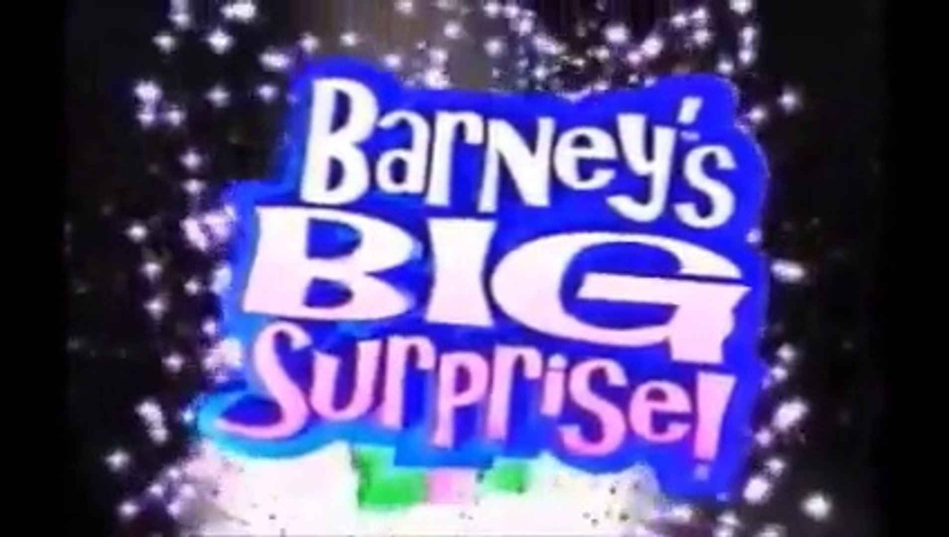 Barney's Big Surprise Part 1