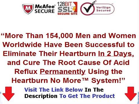 Heartburn No More Jeff Martin + DISCOUNT + BONUS